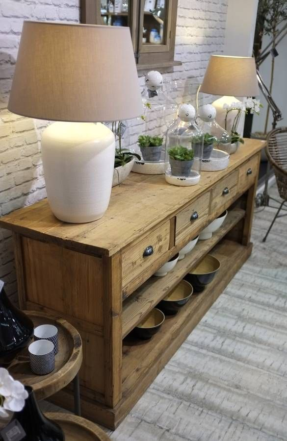 Reclaimed Wooden Sideboard                                                                                                                                                      More