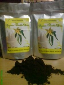 Vanilla Powder in Standup Pouch Bag