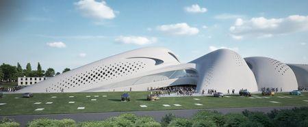 Jesolo Magica by Zaha Hadid. future architecture, future building, futuristic building, futuristic architecture, futuristic design, futuristic concept, structure, construction, modern