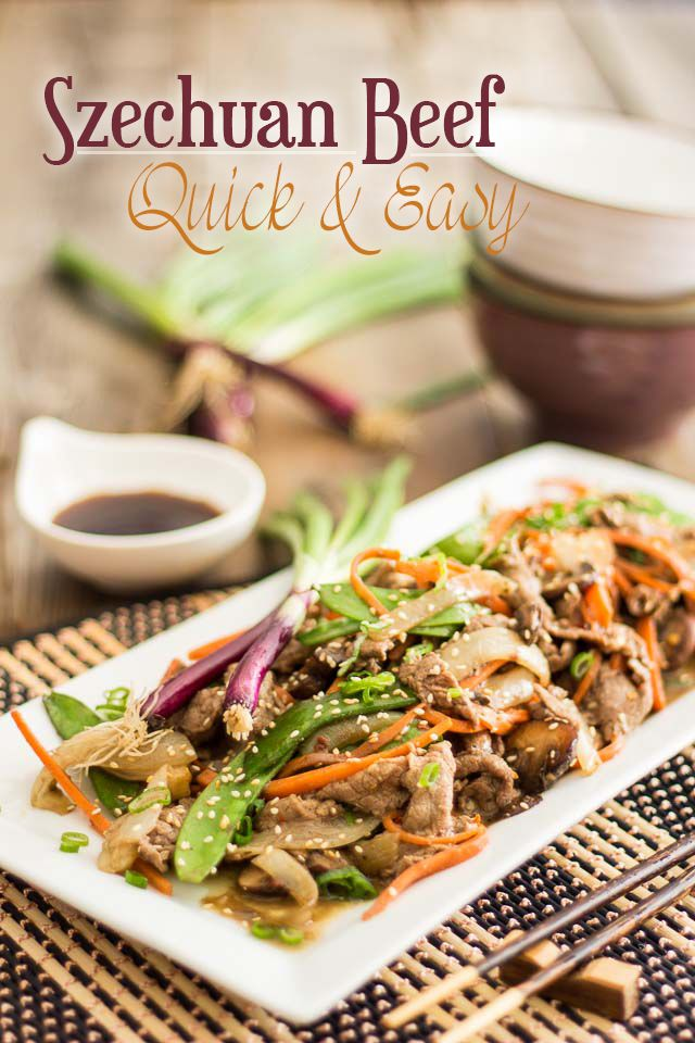Quick and Easy Paleo Sechuan Beef Recipe
