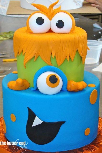 Monster cake by The Butter End Cakery, Santa Monica