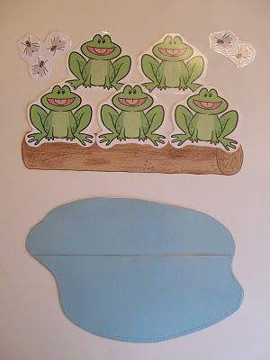 This is a MUST for any PPCD classroom! interactive music increases engagement and communication!! Five Little Speckled Frogs  printables for kids stories and poems