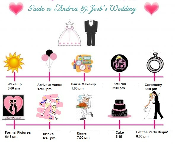How To Create The Perfect Reception Timeline: 10 Best Wedding Timeline Ideas Images On Pinterest