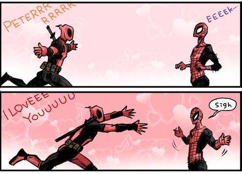 deadpool x spiderman fanfiction - Google Search