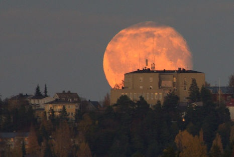 The Moon, Pispala, Tampere, Finland