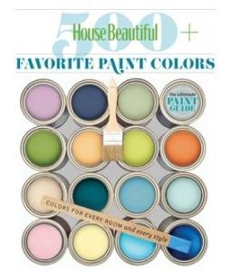 500 favorite paint colors