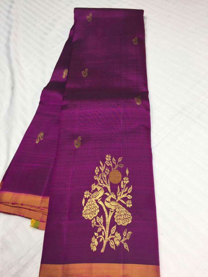 From Pure Kanchipuram Silk Sarees