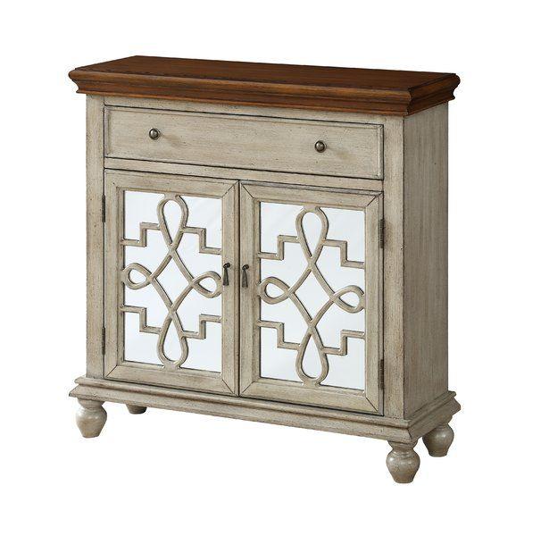 Guerin 2 Door 1 Drawer Accent Cabinet Beige Cabinets Cabinet Furniture
