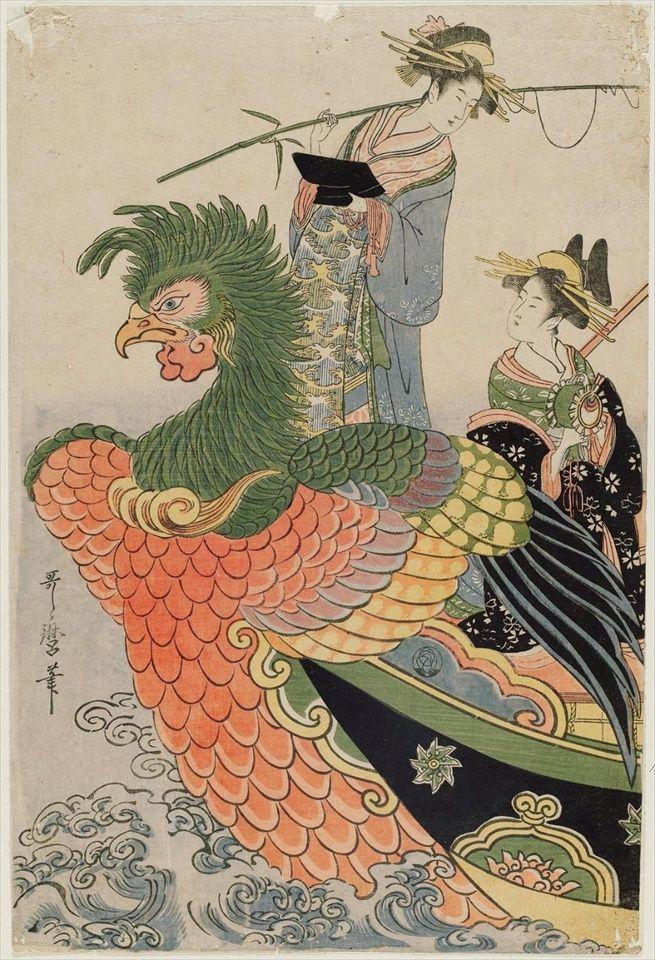 Kitagawa Utamaro,見立七福神宝船-1