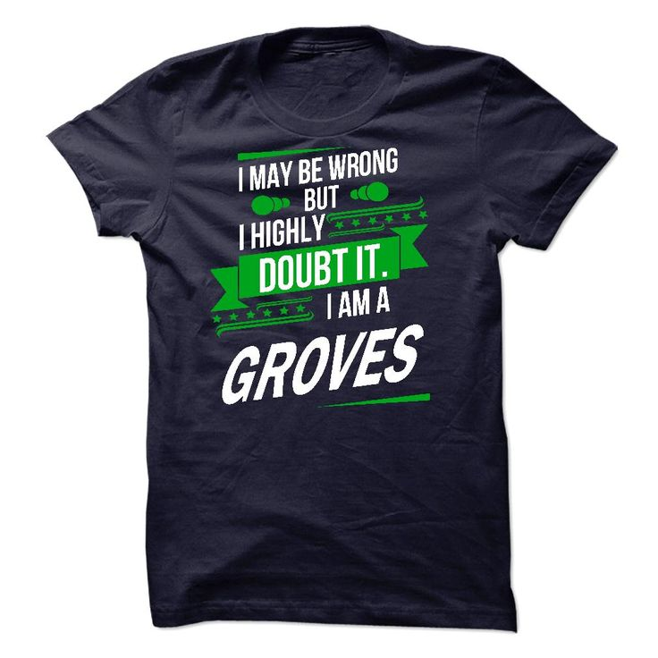 Its a GROVES Thing Strong name 2015