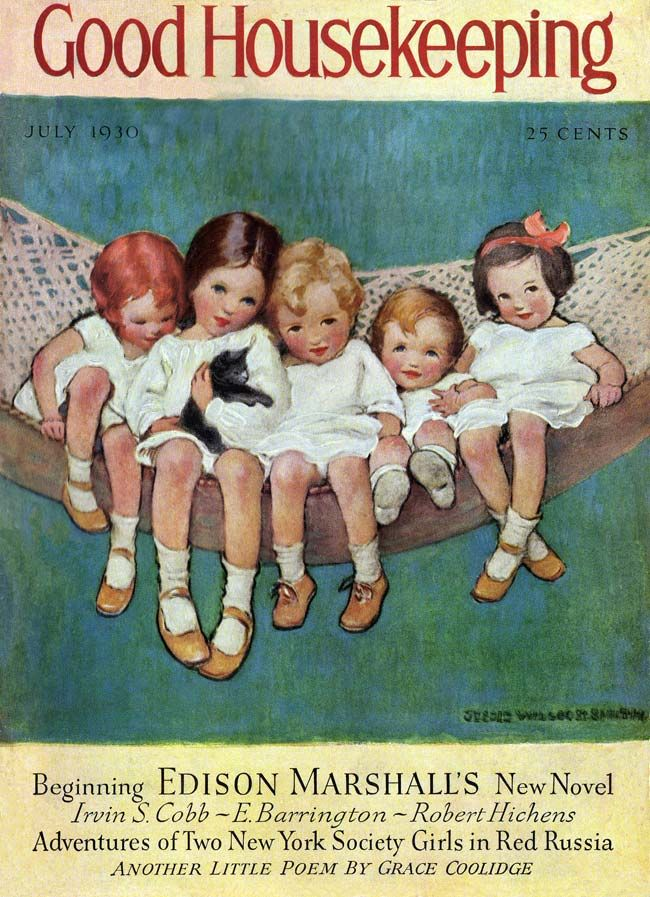 A beautiful illustration from Jessie Wilcox Smith... the way she captures the essence of childhood is priceless.