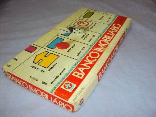 Brinquedo Antigo, Jogo Banco Imobiliário Da Estrela.