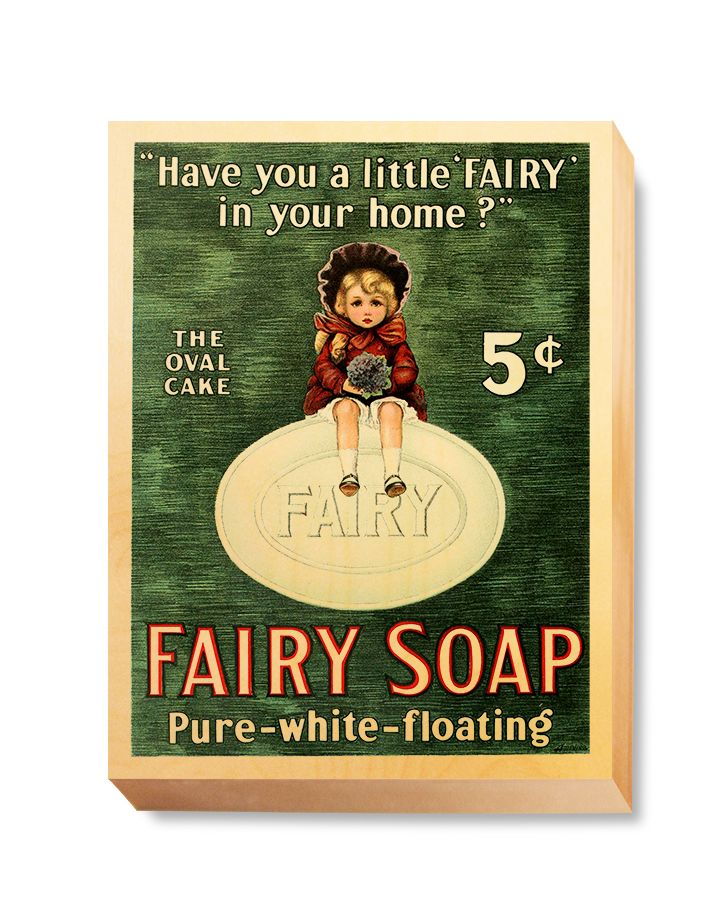 ADV 096 Advertising Art Fairy Soap