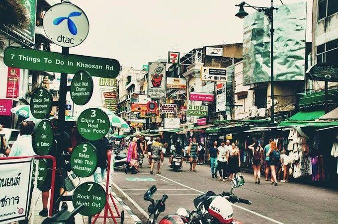 バックパッカーの聖地、バンコクのカオサンロードでしたい「7つのこと」   RETRIP