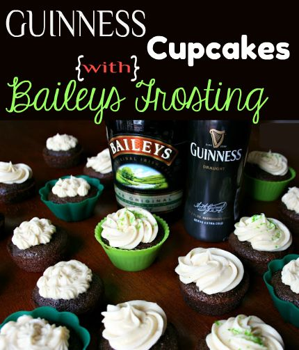 Do you know what you're making for St. Patrick's Day? I bet you do NOW! Best cupcakes EVER!