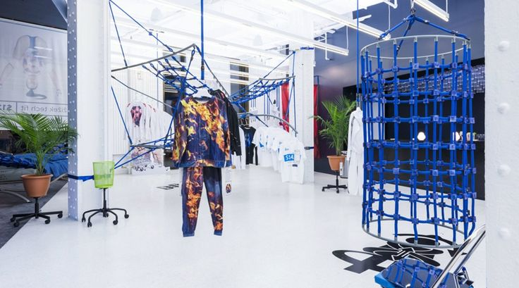 """Installation view of """"DISown"""" at Red Bull Studios in 2014. Courtesy Red Bull Arts New York."""