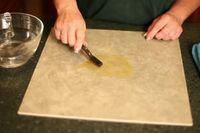 How to Repair Hairline Cracks in a Ceramic Floor Tile | eHow