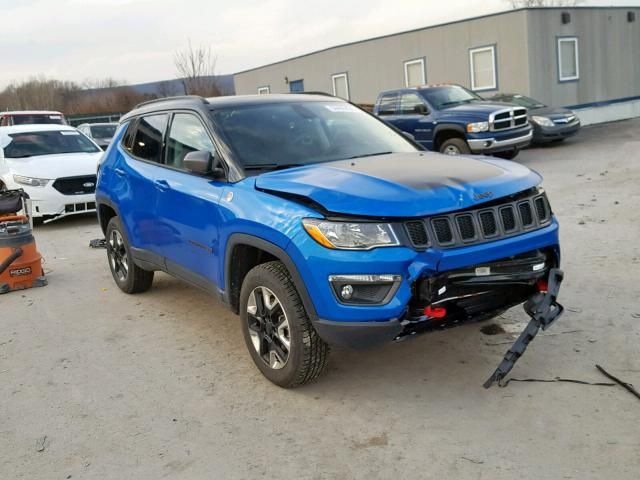 Salvage 2018 Jeep Compass Trailhawk Jeep Compass Jeep Models
