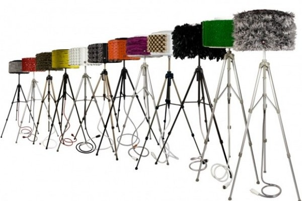 'Rewash Floor Lamps' is a one stop solution to make use of an old unrepairable washing machine & all the junk which you have been thinking of getting rid off….Portuguese designer Antonio Martins has designed these cool funky lamps which stands on a photographer's tripod and consists of salvaged washing machine parts and everyday objects like fabric, measuring tape, ping pong balls, stainless steel sponges, wine corks etc.