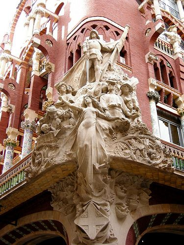 Palau de la Música Catalana. Exterior.