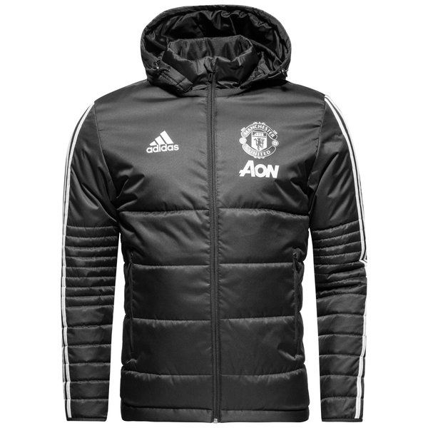 Buy Manchester United Winter Jacket - Night Grey/White for only 112.00 EUR! Save 10% at www.unisportstore.com! Free shipping and return on orders over 699 DKK!