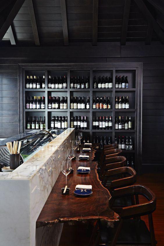 Rustic Hotel Bar! http://covetedition.com/