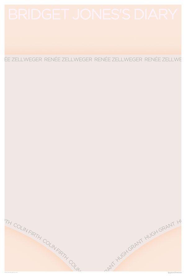 Bridget Jones's Diary #movie #poster