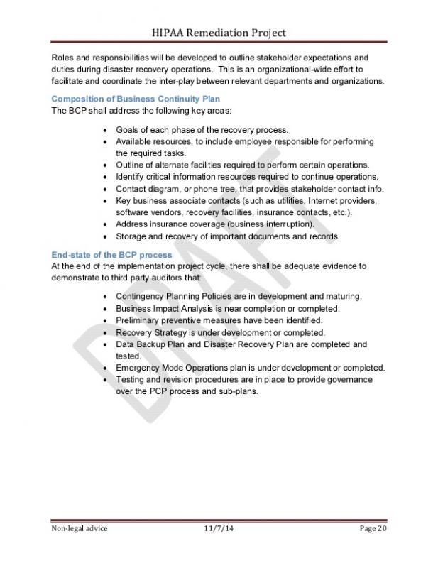 Incident Action Plan Template template