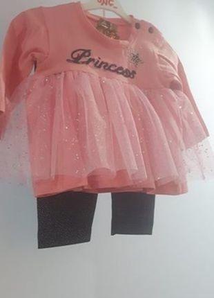 Kup mój przedmiot na #vintedpl http://www.vinted.pl/odziez-dziecieca/dla-niemowlakow-dziewczynki/16868459-komplet-princess-dla-ksiezniczki-3