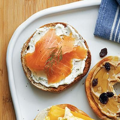 ... Breakfast on Pinterest | Pancakes, Waffles and Smoked salmon bagel