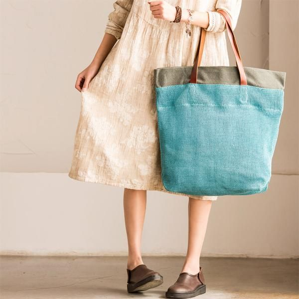 Women canvas handbag