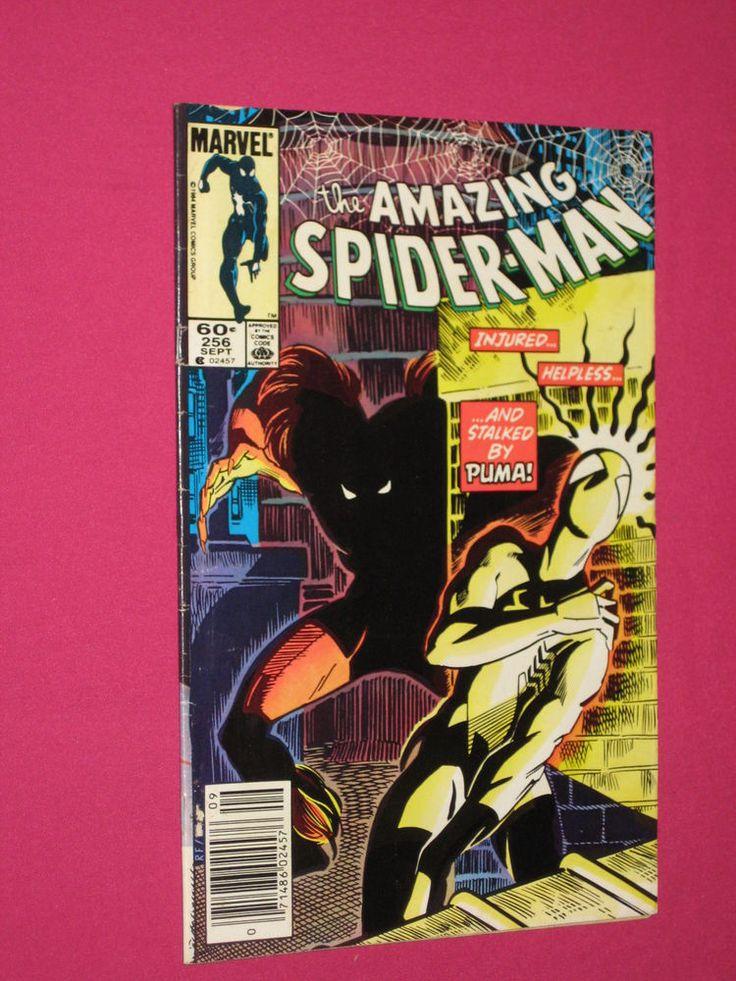 The Amazing Spider-Man #256 Marvel Comics 1984 Key..1st App of Puma | eBay