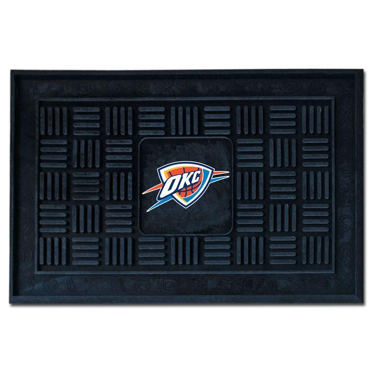 Oklahoma City Thunder Welcome Door Mat