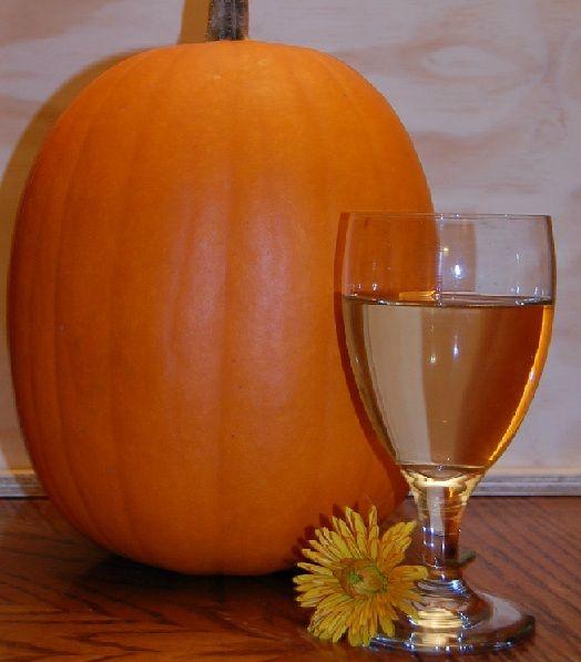 домашнее тыквенное вино фото