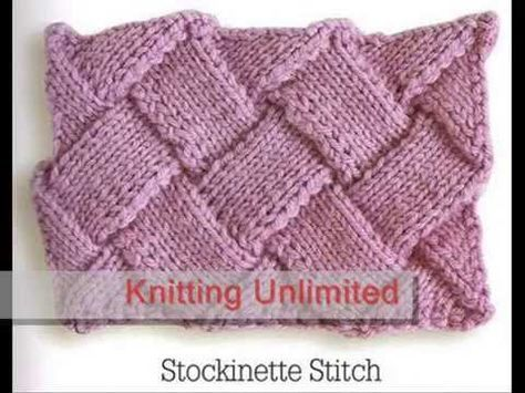 How to Knit Entrelac - Beginner Video on Entrelac Knitting from Knitting Daily…