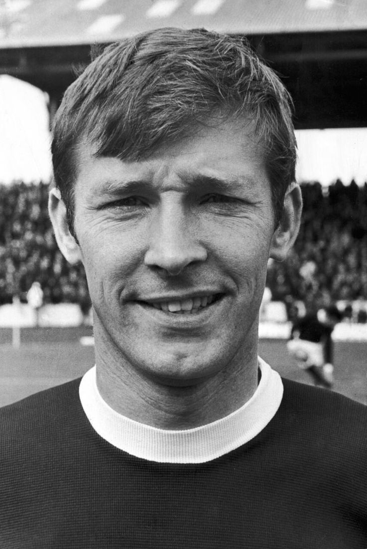 @manutd manager Sir Alex Ferguson at Falkirk as a player, 1970.
