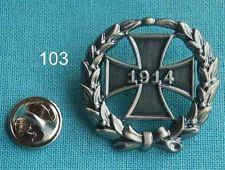 Eisernes Kreuz 1914 Kranz Abzeichen Orden Militär Militaria Pin Anstecker 103