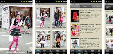 Tokyo Fashion, la app de moda apasionados de Japón y su extraña moda callejera