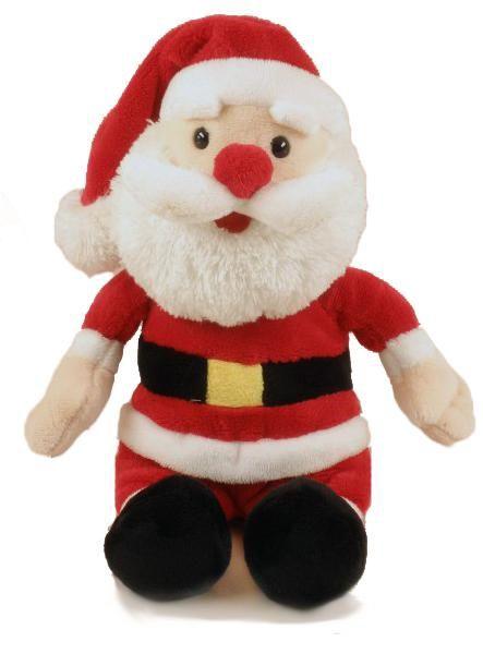 Mikulás plüss figura, nagyon puha, plüss anyagból. Összesen Kb. 20cm, de a szíve óriási: a jó gyerekeknek ajándékot ad, a rosszaknak meg virgácsot! Ráadásul ha megnyomod a hasát, akkor még énekel is neked egy szép karácsonyi dalt! Szóval rendkívül sokoldalú és hasznos is.