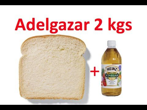 Cómo adelgazar con vinagre de manzana | facilisimo.com - YouTube