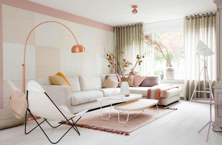 De woonkamer van Claire en Erwin uit aflevering 7, seizoen 3 | Weer verliefd op je huis | Make-over door: Marianne Luning | Fotografie Barbara Kieboom