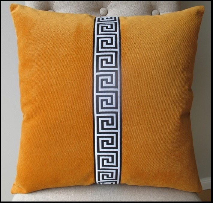 96 best cushion images on pinterest decorative throw pillows image of cushion cover orange with trim solutioingenieria Gallery