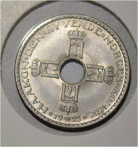 1 krone 1925 kv0