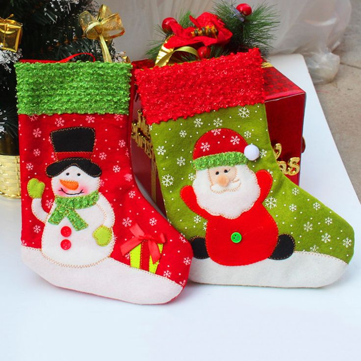 EZLIFE Santa Christmas Stocking for Party Decoration Socking Gift Christmas Socks for Christmas Gift&Decoration KT0536 #clothing,#shoes,#jewelry,#women,#men,#hats,#watches,#belts,#fashion,#style