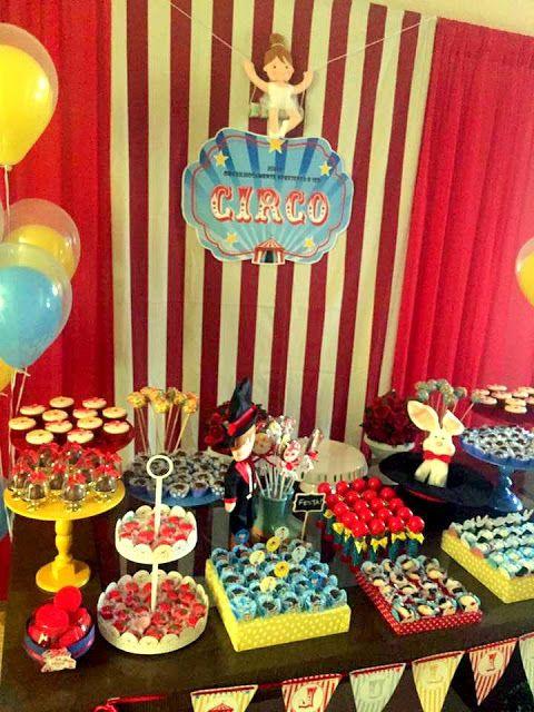 Feltrolândia : Decoração Festa Infantil - Circo
