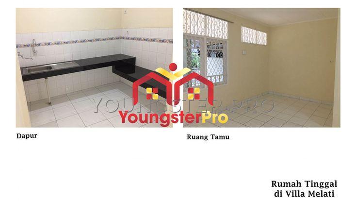 Rumah Dijual di Villa melati mas harga cuma 1,8 Milyar, NEGO 0822-9991-5959