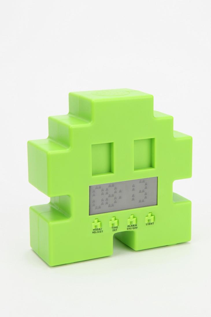 Space Alien Alarm Clock | Shiny | Game room accessories, Home decor