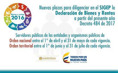 Función Pública informó sobre plazo para que servidores públicos de La Guajira presenten Declaración de Bienes y Rentas vigencia 2016