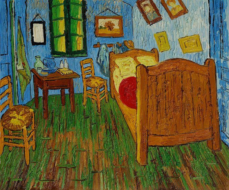 Bedroom In Arles ile ilgili Pinterest\'teki en iyi 25\'den fazla fikir