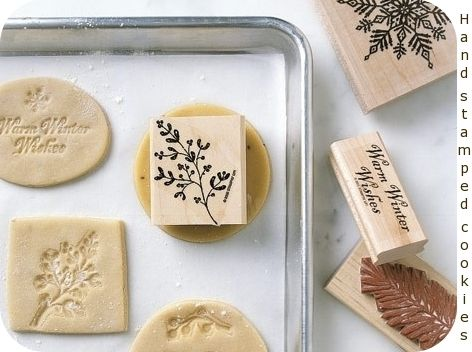 Squirrelly MindsCookies Dough, Stamps Cookies, Sugar Cookies, Christmas Cookies, Cute Ideas, Cookies Press, Cool Ideas, Rubber Stamps, Salts Dough